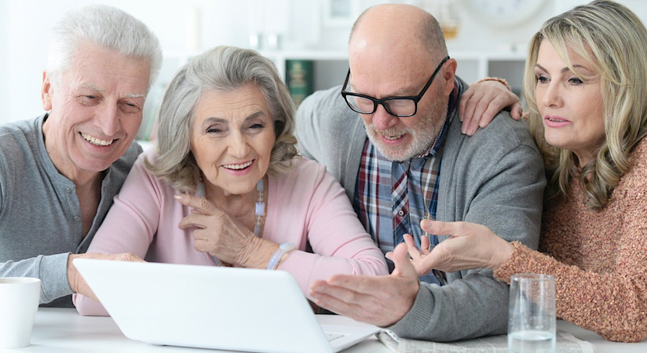 Mature Adults Tech Training - Most seniors say they need help is using new electronic devices