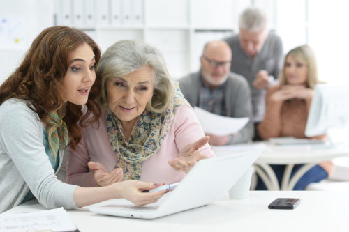 Mature Adult Tech Training - Plano Tech Training and Tutoring