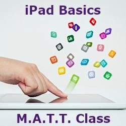 Mature Adults Tech Training - iPad Basics Class