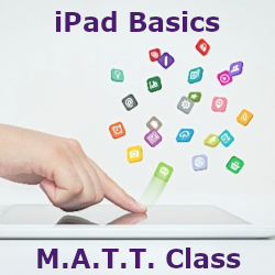 Mature Adults Tech Training - iPad Basics Class