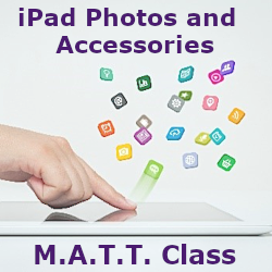 Mature Adults Tech Training - iPad Photos and Accessories Class